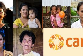 Women in the Philippines who rebuilt homes and livelihoods with help from CARE