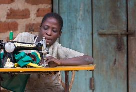 Rosemary, from Uganda, is putting her own hardships aside to help others