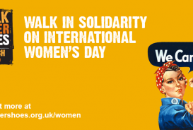 Walk in solidarity on International Women's Day