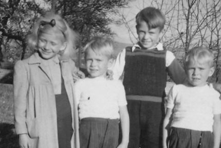 Bernd Kadritzke and his siblings