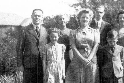 Ruth Martin and family