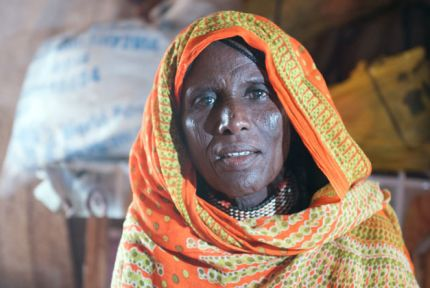 Portrait of Fatuma in Ethiopia