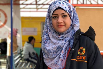 Ann Mazen has worked for CARE since Azraq opened four years ago
