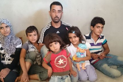 Ayham and his five children
