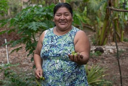 Raquel Vasquez, leader of Madre Tierra in Guatemala
