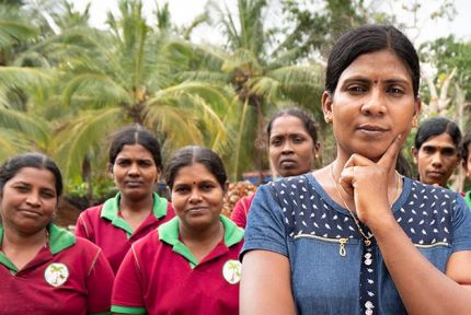 Group of women in Sri Lanka