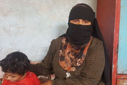 Tuqa, a CARE project beneficiary in Yemen