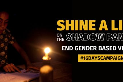 Shine a light on the shadow pandemic of GBV (graphic)