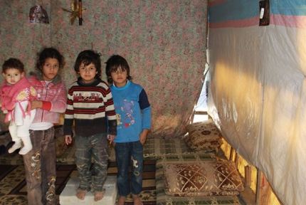 Syrian refugees in winter © CARE / Johanna Mitscherlich