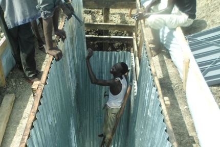 CARE builds new toilets in Malakal, South Sudan