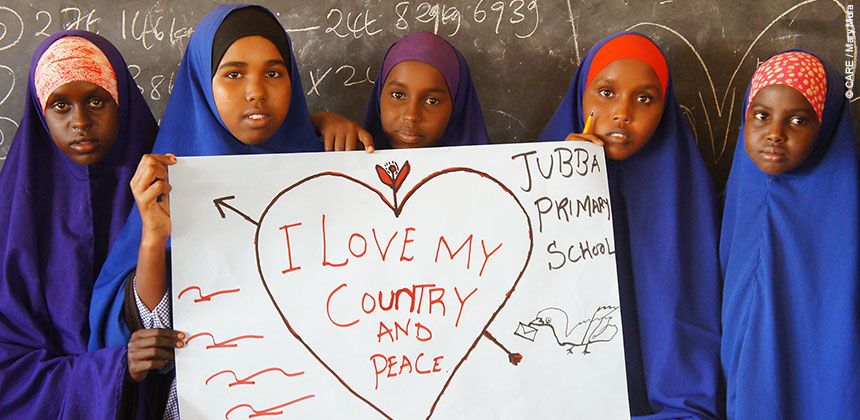 Messages of hope from Dadaab